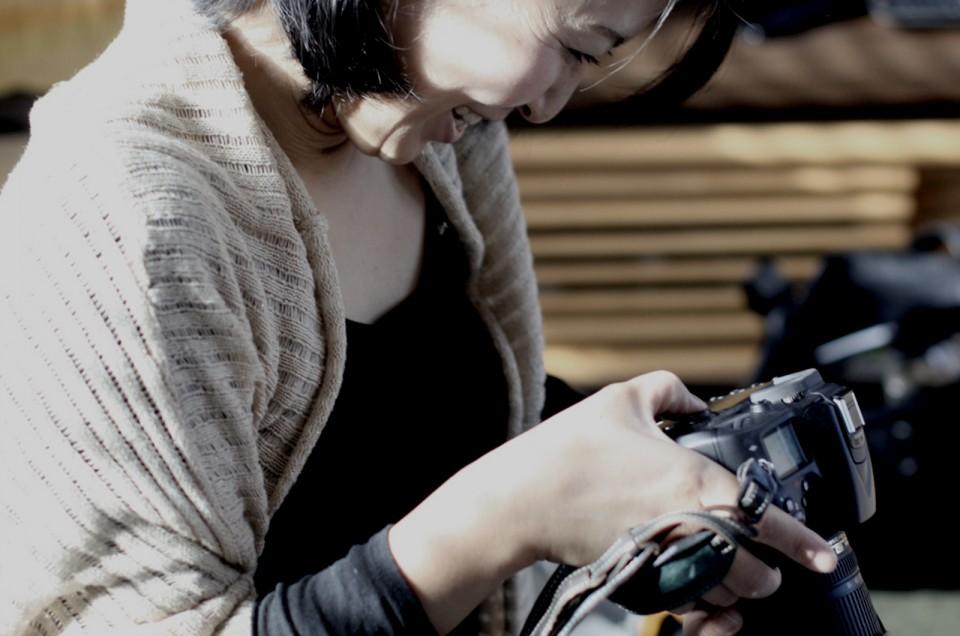 「ようこそ写真の世界へ。」 〜一眼レフ超初心者レッスン〜 藍子さん 第1回目 自宅撮影編