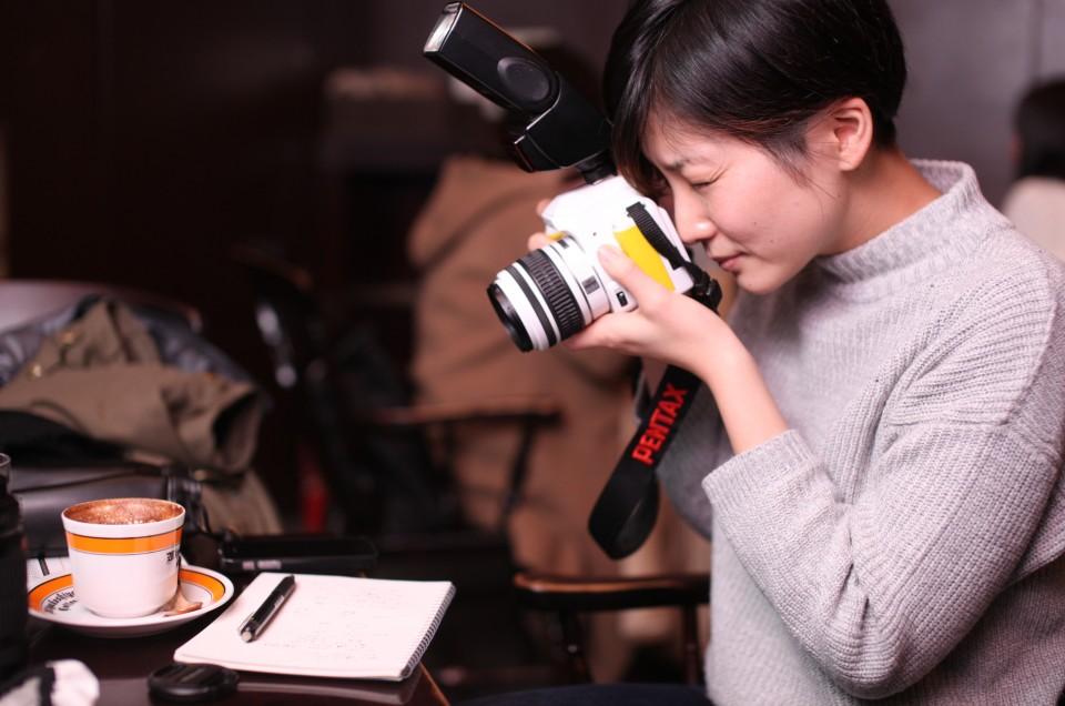 「ようこそ写真の世界へ。」 〜一眼レフ超初心者レッスン〜 あゆみさん 第1回目 クリップオン撮影編