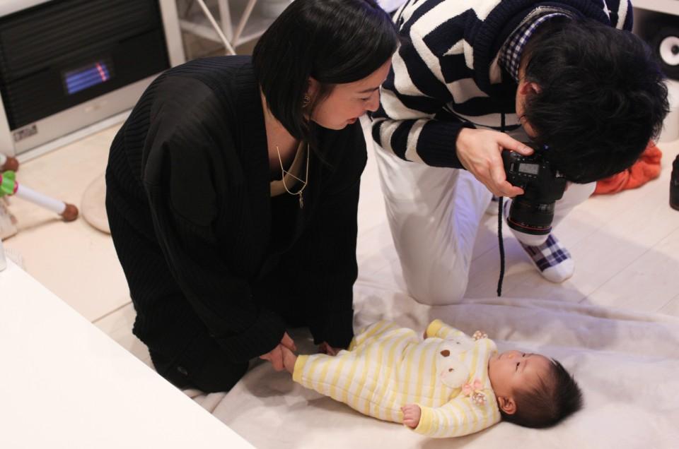 〜一眼レフ超初心者レッスン〜  ブリッジさん 最終回 自宅で赤ちゃん撮影編!