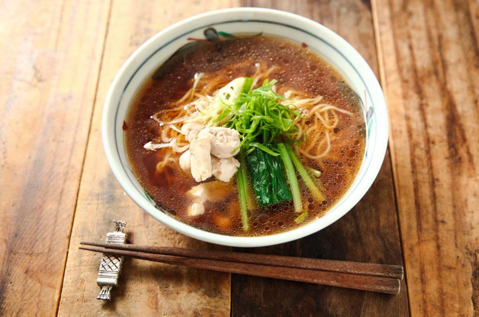 自家製 淡麗醤油ラーメン Homemade soy sauce base Ramen