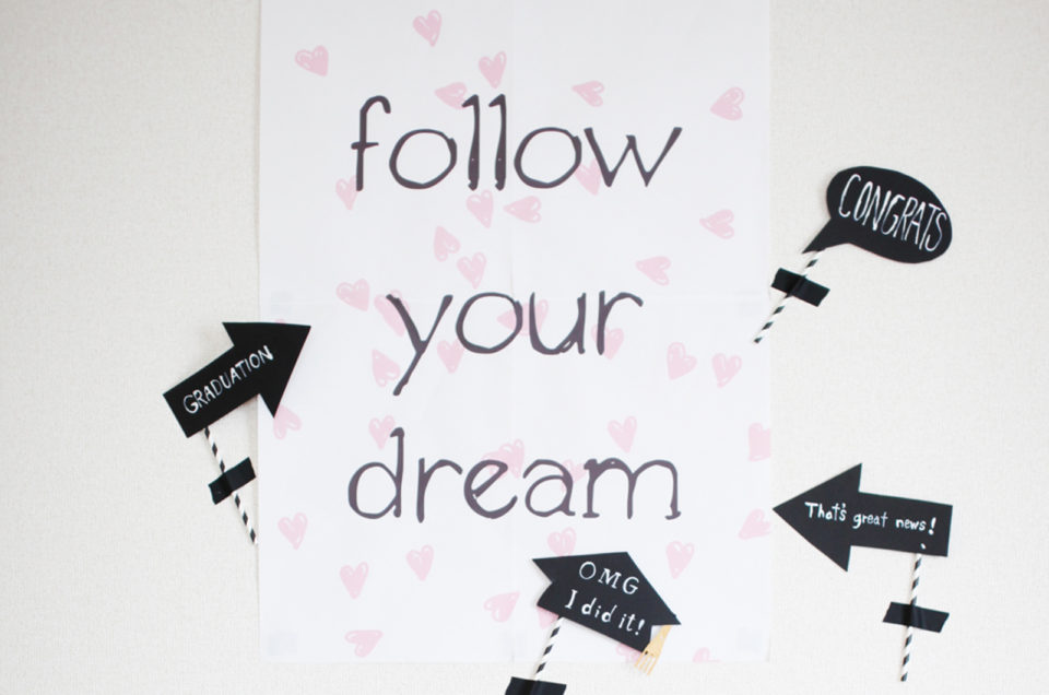 合格おめでとう- Follow your dream-