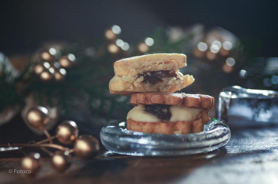 ラムレーズンバターサンドクッキー